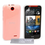 YouSave Accessories HTC Desire 310 Gel Case - Clear