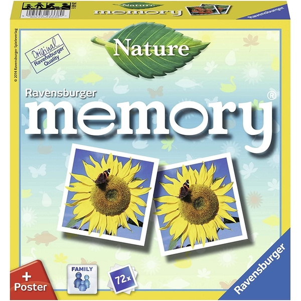 Ravensburger Memory Card Game (Nature)