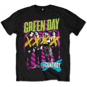 Green Day Hypno 4 Blk Mens T Shirt: X Large