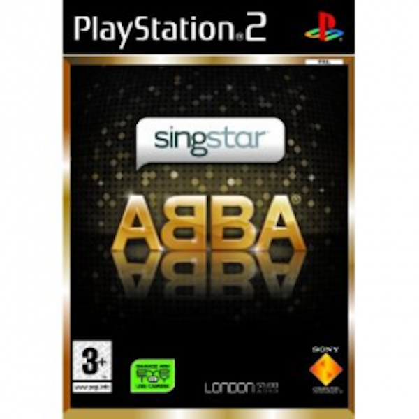 SingStar ABBA Solus Game PS2