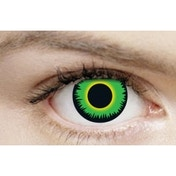Green Werewolf 3 Month Halloween Coloured Contact Lenses (MesmerEyez XtremeEyez)
