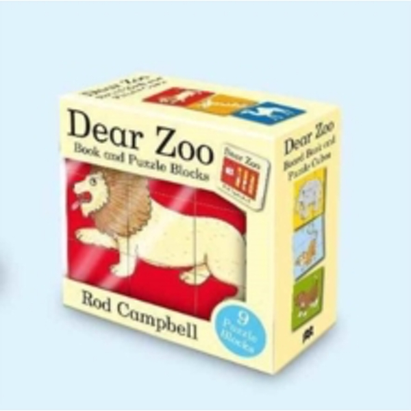 Dear Zoo Book and Puzzle Blocks by Rod Campbell (Multiple copy pack, 2017)