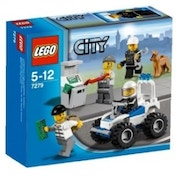 Lego City 7279 Police Minifigure Collection