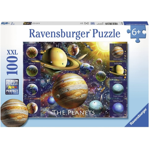 Ravensburger The Planets Jigsaw Puzzle - 100XXL Pieces