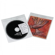 CD/DVD Protective Sleeves 25 (White)