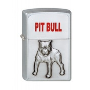 Zippo Pit Bull Pocket Lighter - Chrome