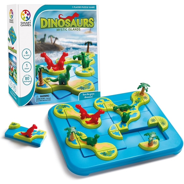 Dinosaurs Mystic Islands Smart Games Puzzle Game