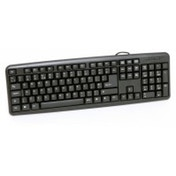 CiT KBMS-001 USB Black Keyboard UK Layout