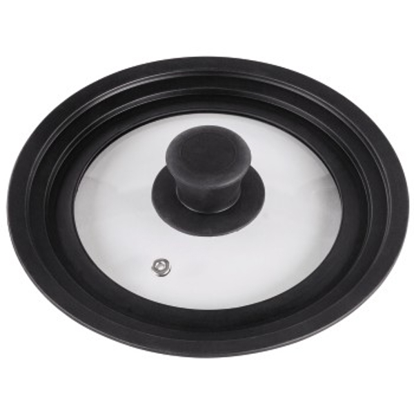 Xavax Universal Lid with Steam Vent for Pots and Pans, 16, 18, 20 cm, glass