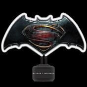 Batman V Superman Neon Light UK Plug