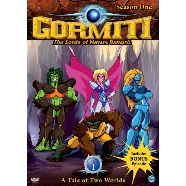 Gormiti - A Tale Of Two Worlds Season 1 - Volume 1 DVD