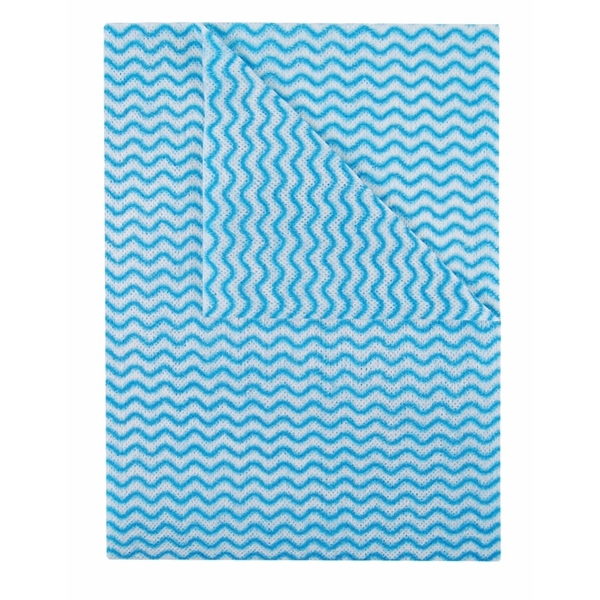 Abbey Blue Ocean Wipe Pack 50 50 x 36cm