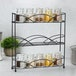 3 Tier Herb & Spice Rack | M&W Black - Image 4