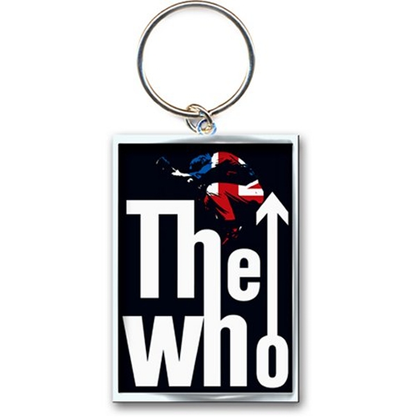 The Who - Leap Logo Keychain