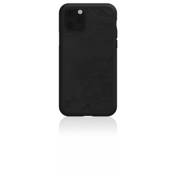 "Black Rock""The Statement"" Protective Case for Apple iPhone 11 / Plastic/Ideal for Outdoor Activities/Sports / 180 Degree Protection/Black"
