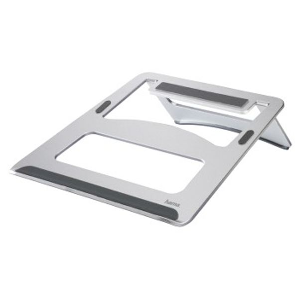 "Hama | Aluminium adjustable Notebook Stand | Display size of max. 39 cm (15.4"") 