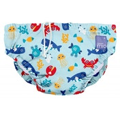 Bambino Mio Swim Nappy Medium 6-12 Months Deep Sea Blue