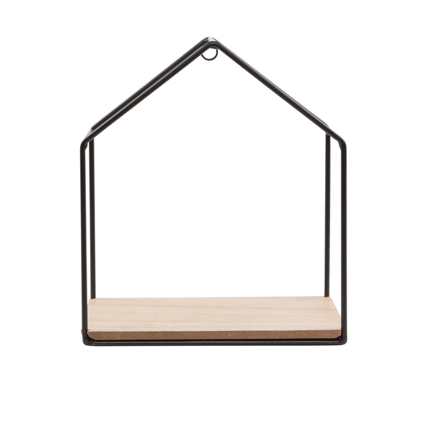 Sass & Belle Jet Black House Shelf
