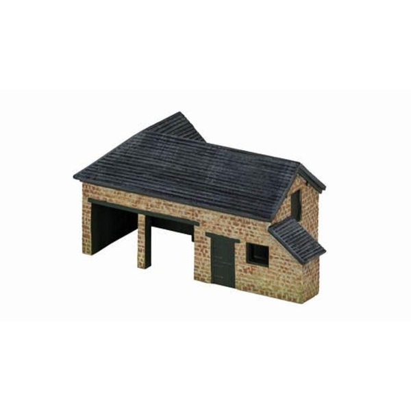 Hornby Country Farm Tractor Shed Model