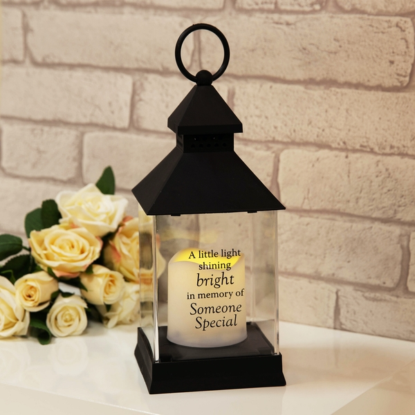 Thoughts of You Graveside Memorial Lantern - Someone Special