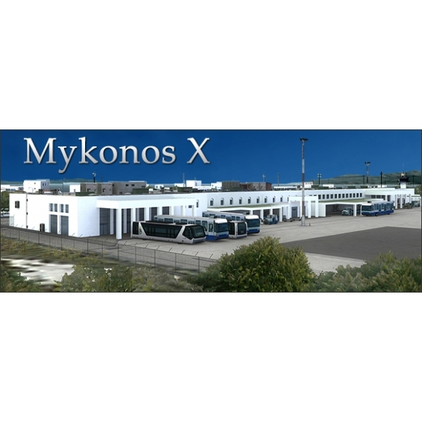 Airport Mykonos for FSX Game PC
