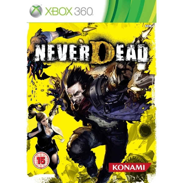 NeverDead Game Xbox 360