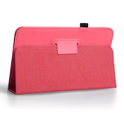 Samsung Galaxy Note 8.0 PU Leather Stand - Hot Pink