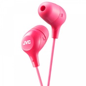 JVC HAFX38P Marshmallow Custom Fit In-Ear Headphones Pink