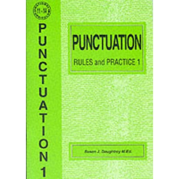 Punctuation Rules and Practice: No. 1 by Susan J. Daughtrey (Paperback, 1995)