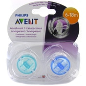 Philips Avent Orthodontic Pacifier Baby Dummy - Pack of 2