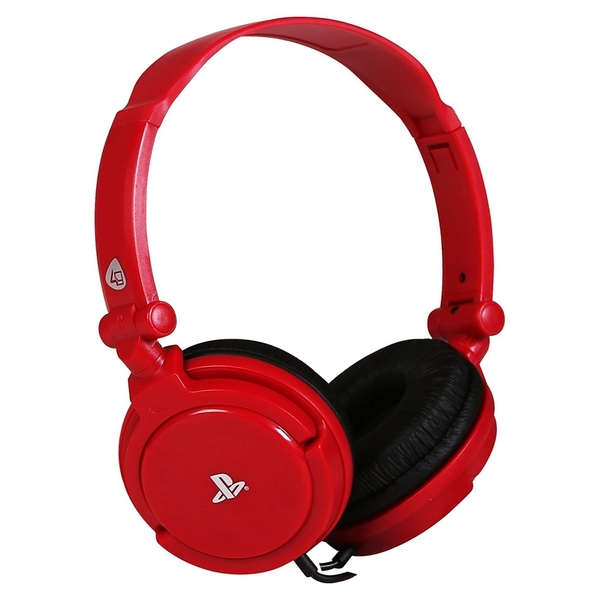 Image of PRO4-10 Stereo Gaming Headset - Red (PS4/Playstation Vita)