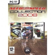 Need for Speed Collection 2008 Edition Includes Carbon/ Pro Street/ Most Wanted Game PC