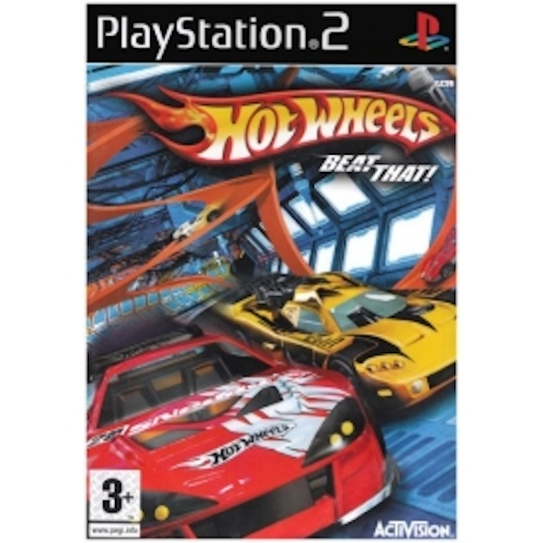 Hot Wheels Beat That Game PS2