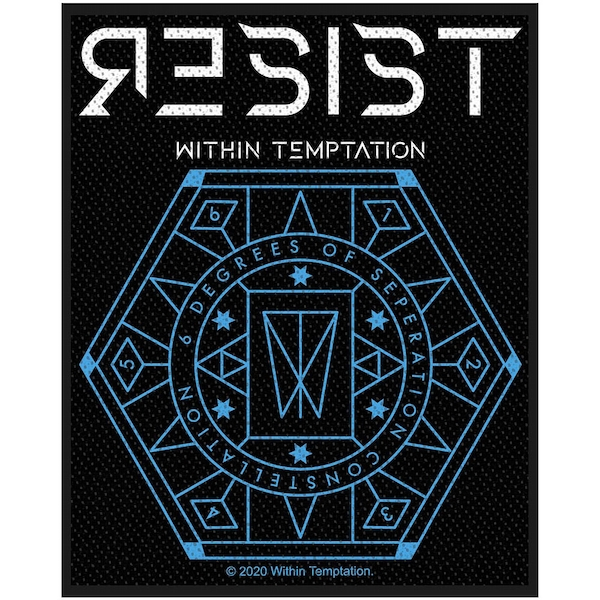 Within Temptation - Resist Hexagon Standard Patch