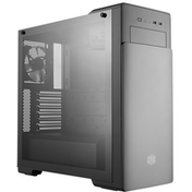 Cooler Master MasterBox E500 Mid Tower 2 x USB 3.0 Tempered Glass Side Window Panel Black Case