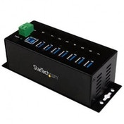 7-port industrial USB 3.0 hub - ESD and surge protection