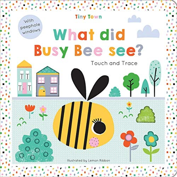 What did Busy Bee see?  Hardback 2018