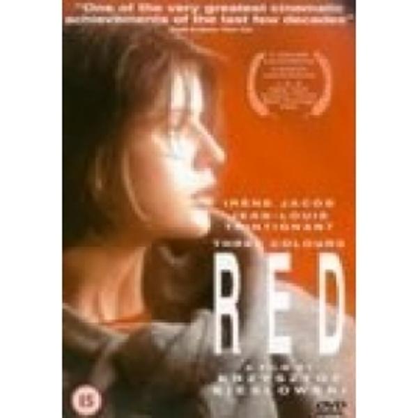 Three Colours Red DVD