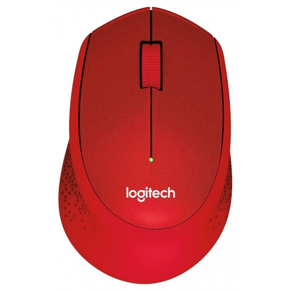 Image of Logitech M330 Silent Plus RF Wireless Optical 1000DPI Right-hand Red mice