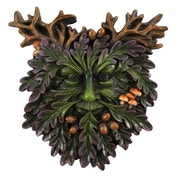 The Green Man Small Face Plaque