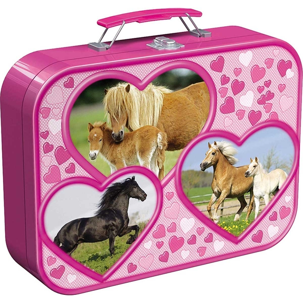 Horses Jigsaw Puzzle Box (2x26pc/2x48pc)