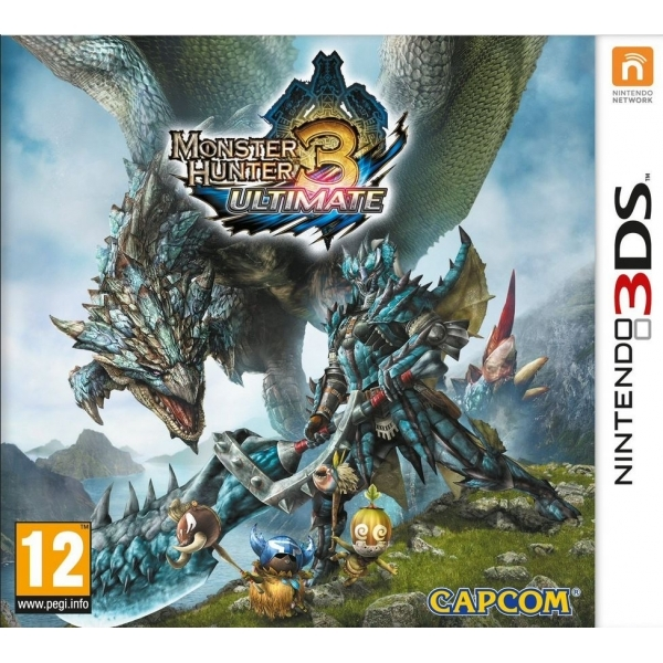 Monster Hunter 3 Ultimate Game 3DS - Image 1