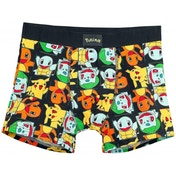 Pokemon Pikachu & Friends All-Over Pattern Large Boxer Short