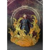 Doctor Strange with Exclusive Flame Set (Marvel) Bandai Tamashii Nations Figuarts Figure