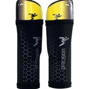 Precision Matrix ShinPads (with Sleeve) Large Fluo Yellow/Black