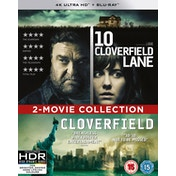 10 Cloverfield Lane/Cloverfield 2-Movie Collection 4K UHD Blu-ray