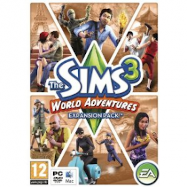 The Sims 3 World Adventures Expansion Pack PC & MAC