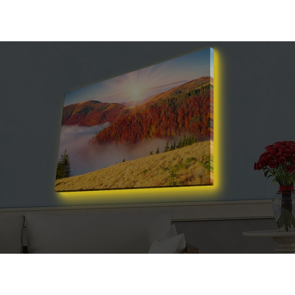 4570HDACT-084 Multicolor Decorative Led Lighted Canvas Painting