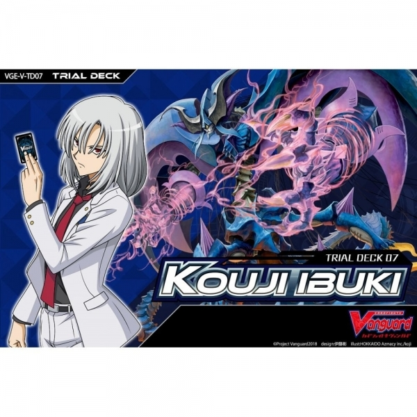 Ex-Display Cardfight Vanguard TCG: VGE-V-TD07 Kouji Ibuki Trial Deck Used - Like New