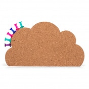 Thumbs Up! Cloud Cork Board Magnet